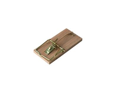 Мышеловка деревянная, 2 шт. в упаковке